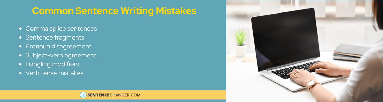 common sentence mistakes