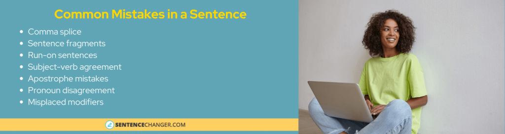 common sentence related mistakes